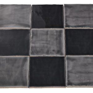Handvorm tegels 13x13 cm GRIJS MIX