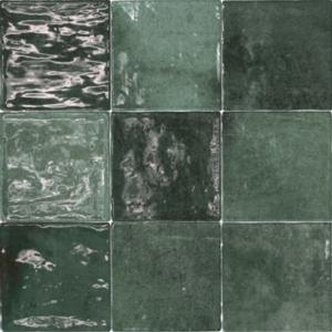 Class zellige Verde Oscuro 10x10 cm
