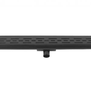 Afvoerdrain mat zwart 100 cm